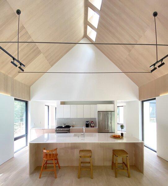 modern kitchen white cabinets track