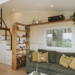 Photo 1 Of 697 In Living Shelves Photos From This Tiny House In New Zealand Is A 241 Square Foot Slice Of Paradise Dwell