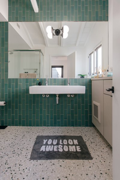 bath porcelain tile terrazzo