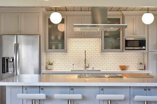 engineered quartz counters subway tile