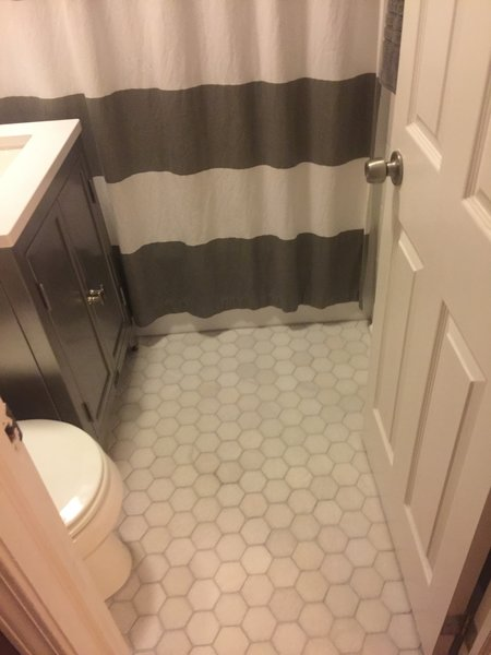 photo 4 of 4 in small bathroom remodel