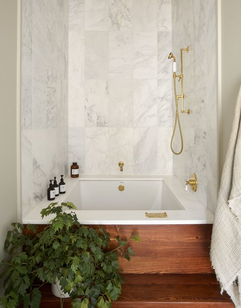 best 45 modern bathroom alcove tubs design photos and ideas - dwell