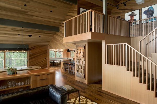 Best 60 Modern Staircase Design Photos And Ideas Page 5 Dwell   Home Front Staircase Design   Front Side Arch   Outer Wall   Outside Stair   Elevation Lighting   Wooden Stair