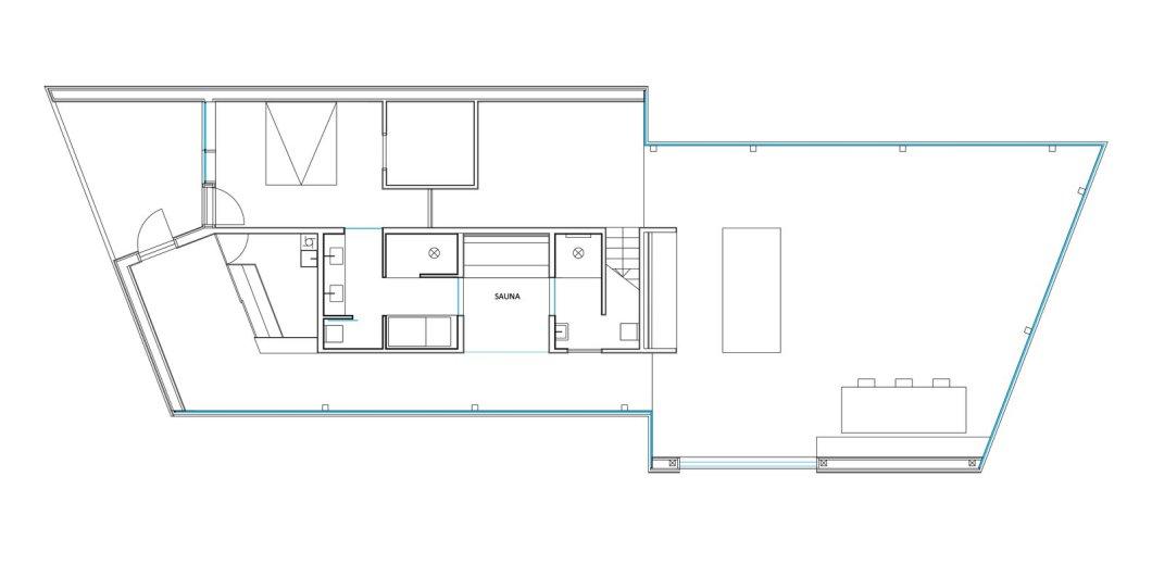 Ejford Cabin floor plan