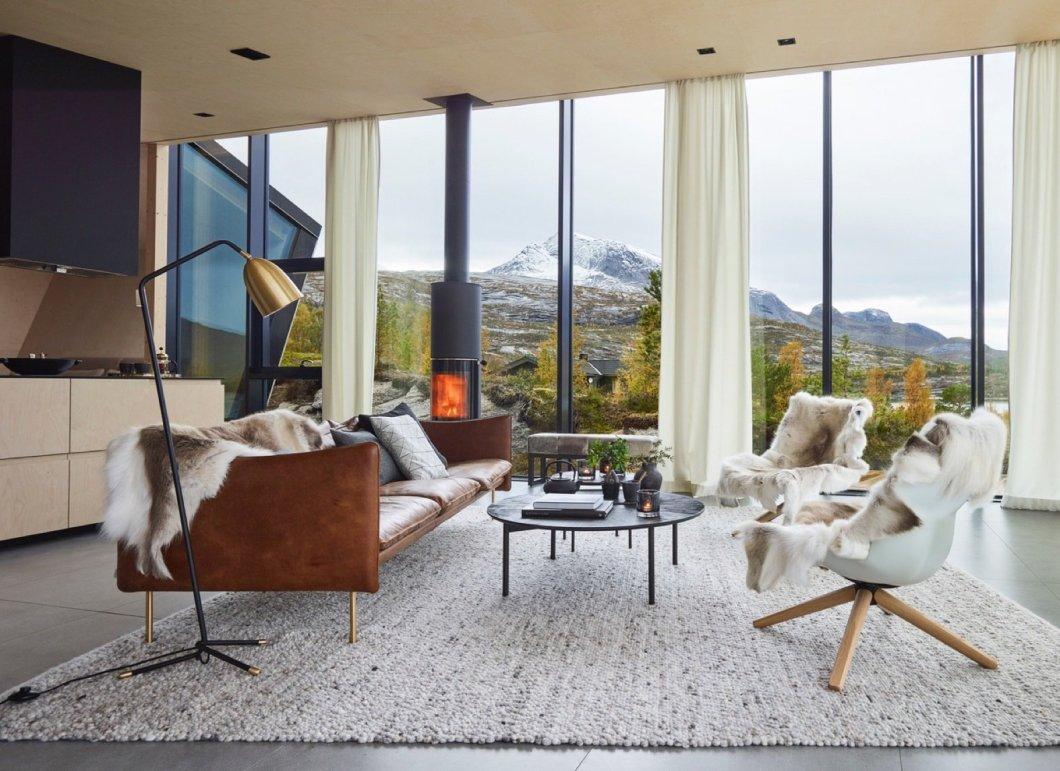 Ejford Cabin living room