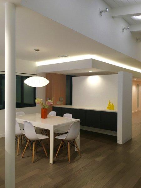 modern dining room lighting design
