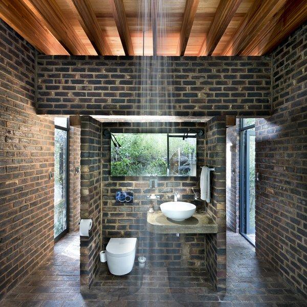best 11 modern bathroom brick floors