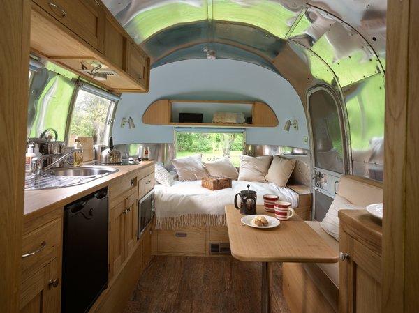Airstream Basecamp Interior