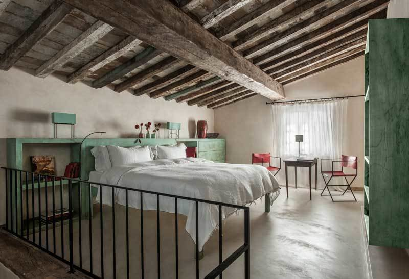 Rustic Meets Modern In This Tuscan Village Boutique Hotel