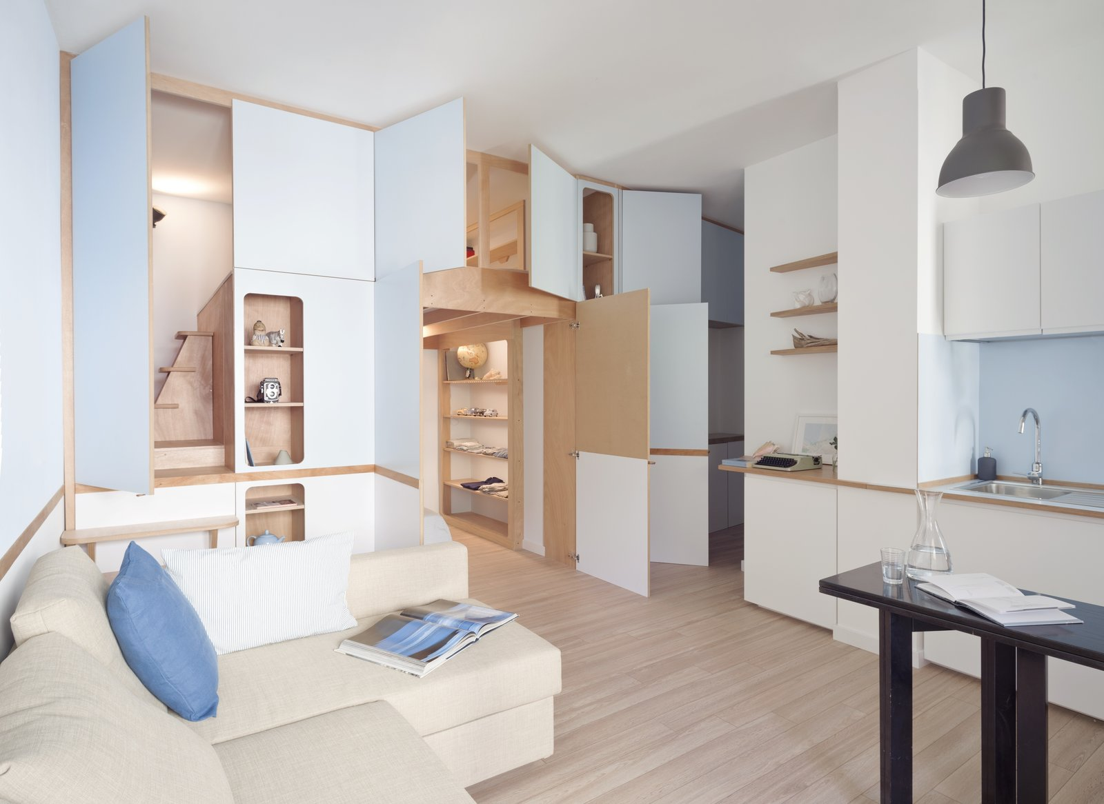 A Tiny Apartment In The Italian Riviera Takes Cues From