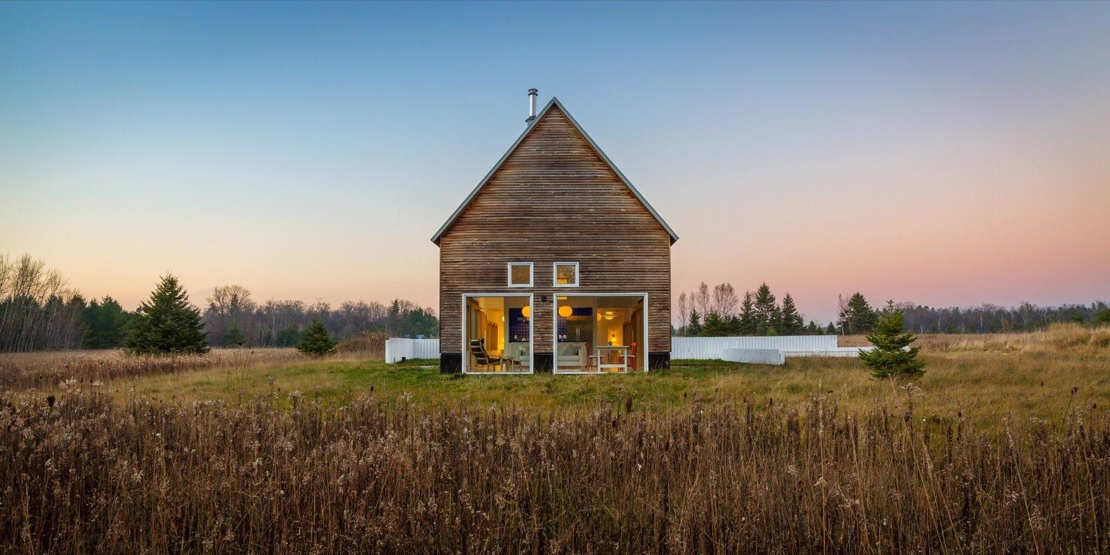 A Light Filled Modern Farmhouse Is Built For 240k Dwell