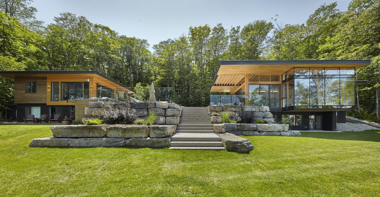 Severn Sound Cottage Modern Home In Penetanguishene Ontario Canada On Dwell