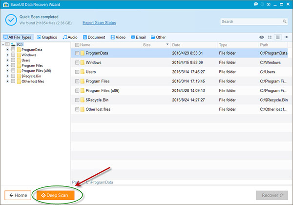 EaseUS hard drive recovery tool with User Guide 4