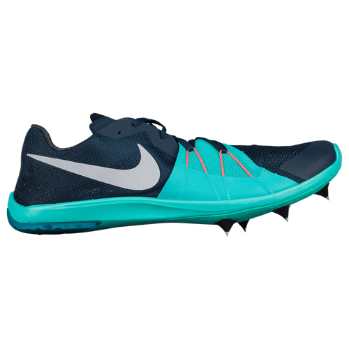 Nike Zoom Forever XC 5 Mens Track Amp Field Shoes Armory NavyWolf GreyClear Jade