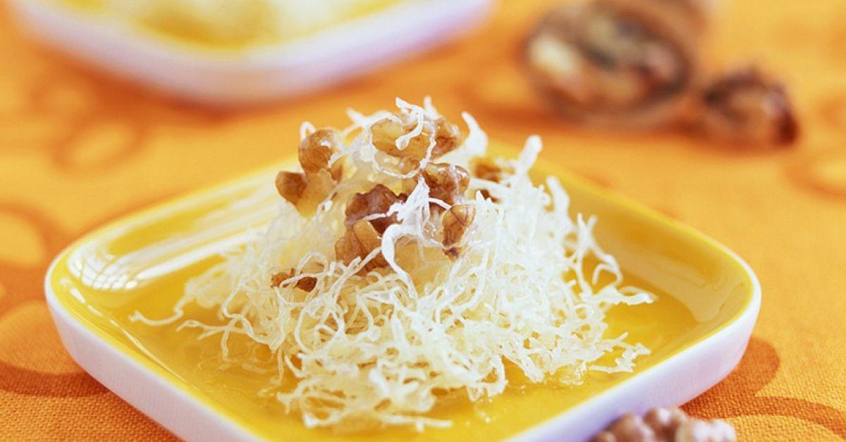 Turkish Angel Hair Dessert Recipe Eatsmarter