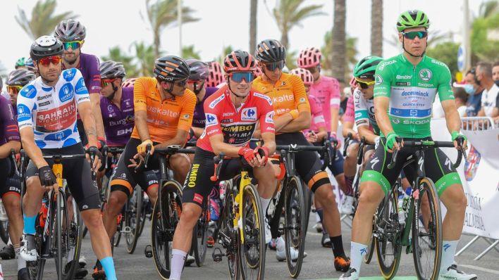 La décima etapa de La Vuelta. (EFE)