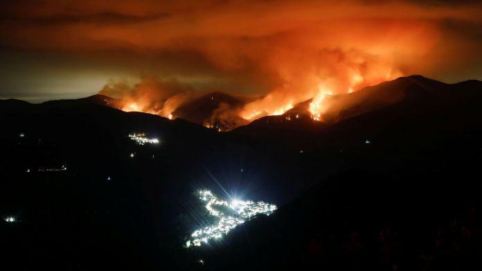 Incendio en Sierra Bermeja, Málaga. (Reuters)