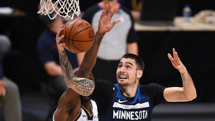 Hernangomez, en un partido con los Timberwolves el pasado mes de enero. (REUTERS)