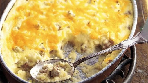 Gluten-Free Casseroles: Sausage and Cheese Grits Casserole