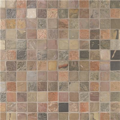 msi mixed color 12 in x 12 in x 10 mm textured slate mesh