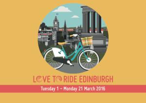 Love to Ride Edinburgh