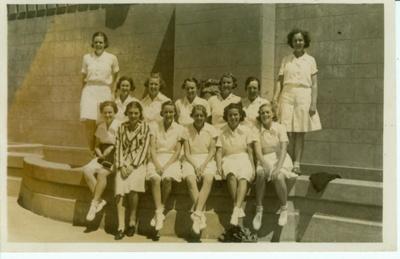 Photo: Wellington team, late 1930s, Wellington; 2018.5.30