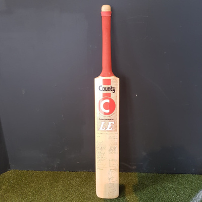 Bat: autographed by 1992 World Cup squads; County; c1992; 2018.18.2
