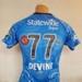 Shirt: Sophie Devine's Adelaide Strikers' T20 shirt, 2018; Colleen Strangways; Mel Agius; Majestic Athletic; 2017; 2018.22.1