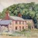 watercolour Lower Wilbury Farm, Letchworth; Ratcliffe, William; 1930 - 1940; 1979.150