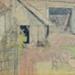 watercolour Manor Farm, Norton; Ratcliffe, William; 1910 - 1950; 1955.42.2
