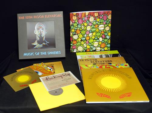 13th Floor Elevators Music Of The Spheres Vinyl Box Set UK 13FVXMU635978
