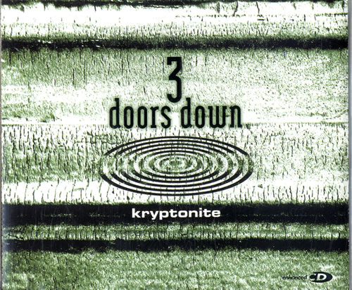 Image result for Kryptonite by 3 Doors Down album cover