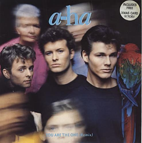 "A-Ha You Are The One - Xmas Pack 7"" vinyl single (7 inch record) UK AHA07YO21738"