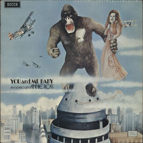 Annie Ross You And Me Baby vinyl LP album (LP record) UK AOSLPYO700144