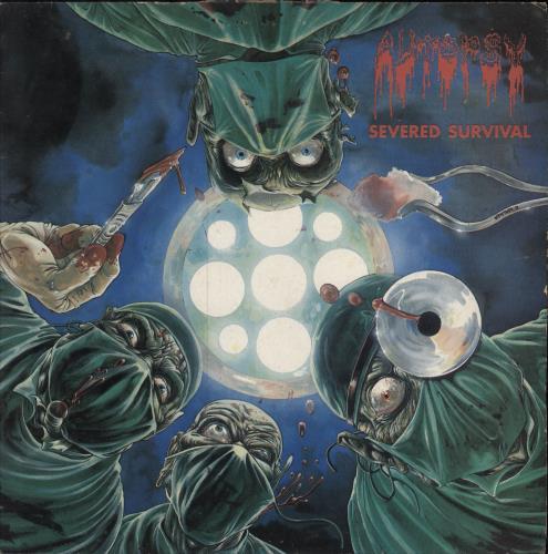 Autopsy Severed Survival vinyl LP album (LP record) UK A6SLPSE704949