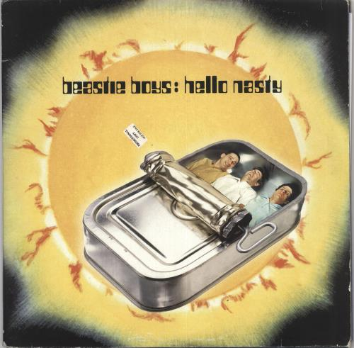Beastie Boys Hello Nasty - 180gm Vinyl - VG/EX 2-LP vinyl record set (Double Album) UK BEA2LHE733397