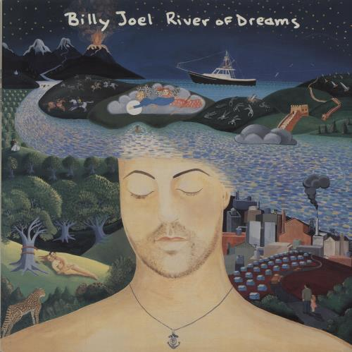 Billy Joel River Of Dreams vinyl LP album (LP record) Dutch BLYLPRI273691