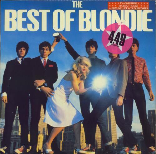 Blondie The Best Of Blondie + Poster - Stickered Sleeve vinyl LP album (LP record) UK BLOLPTH129708