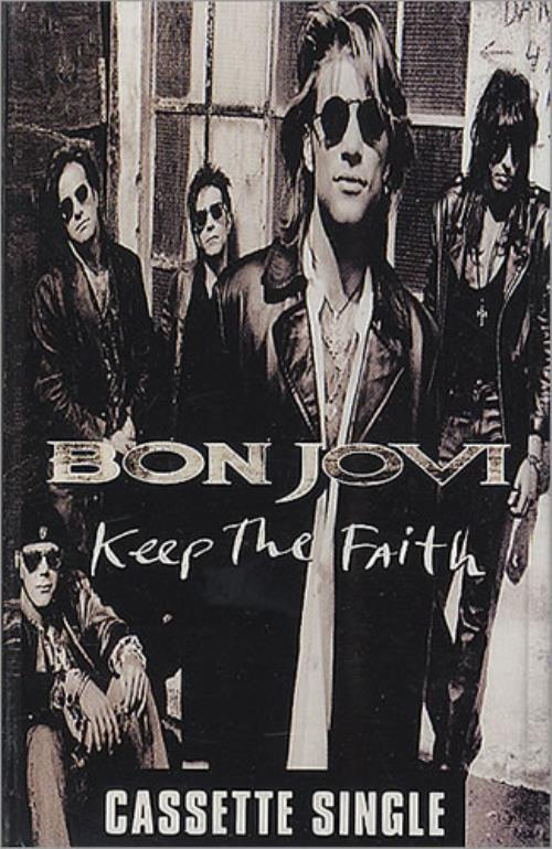 Bon Jovi Keep The Faith Cassette Singles UK Cassette