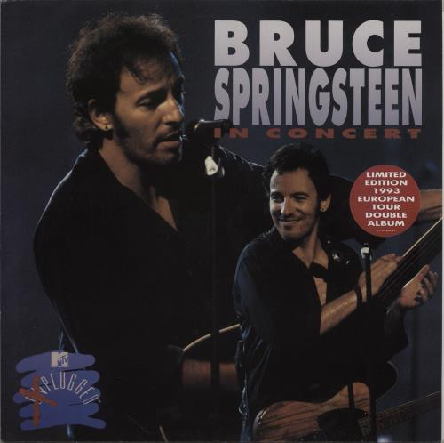 Bruce Springsteen In Concert / MTV Plugged 2-LP vinyl record set (Double Album) Dutch SPR2LIN357036
