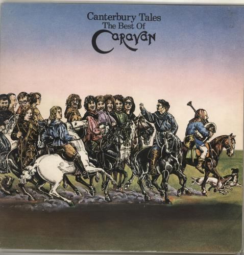 Caravan Canterbury Tales - The Best Of Caravan 2-LP vinyl record set (Double Album) UK CAV2LCA195493