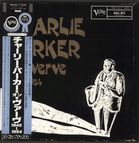 Charlie Parker Charlie Parker On Verve 1946-1954 Vinyl Box Set Japanese CIKVXCH716994