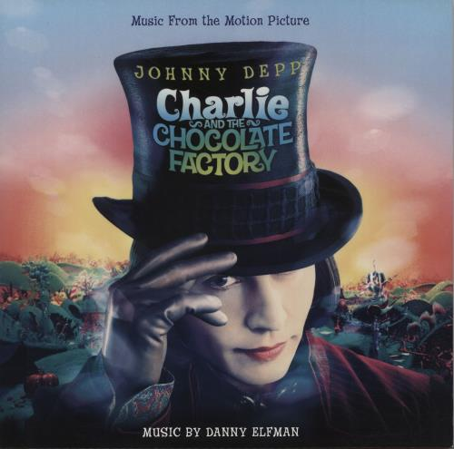 Danny Elfman Charlie And The Chocolate Factory - Red & White marbled Vinyl 2-LP vinyl record set (Double Album) UK DXN2LCH660266