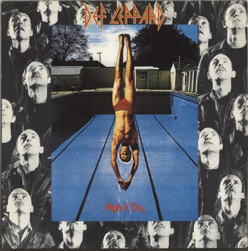 Def Leppard High 'N' Dry vinyl LP album (LP record) Dutch DEFLPHI500482