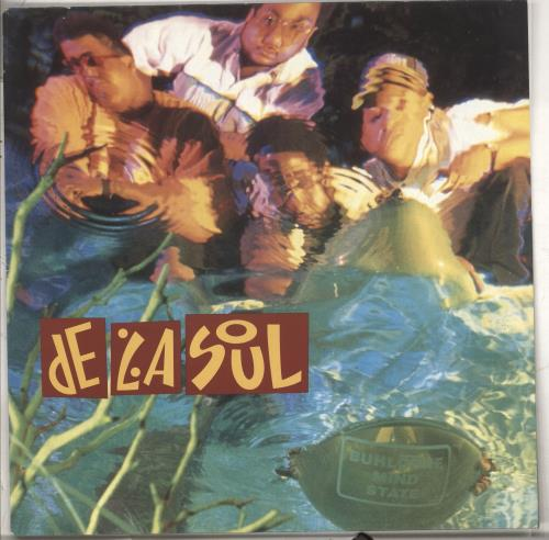 De La Soul Buhloone Mindstate vinyl LP album (LP record) UK DLSLPBU710205