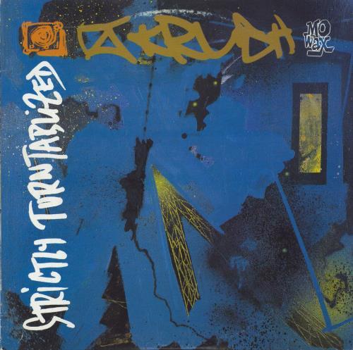 DJ Krush Strictly Turntablized 2-LP vinyl record set (Double Album) UK DKJ2LST709191