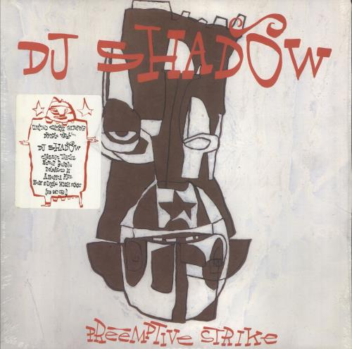 DJ Shadow Pre-Emptive Strike - Sealed 2-LP vinyl record set (Double Album) US D.S2LPR210530