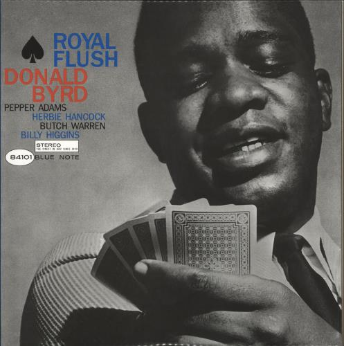 Donald Byrd Royal Flush - 45rpm 180gm 2-LP vinyl record set (Double Album) US DOB2LRO730877