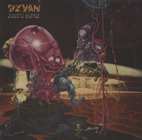 Dzyan Electric Silence vinyl LP album (LP record) German 2Z0LPEL754308