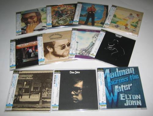 Elton John Paper Sleeve Collection CD album (CDLP) Japanese JOHCDPA407389